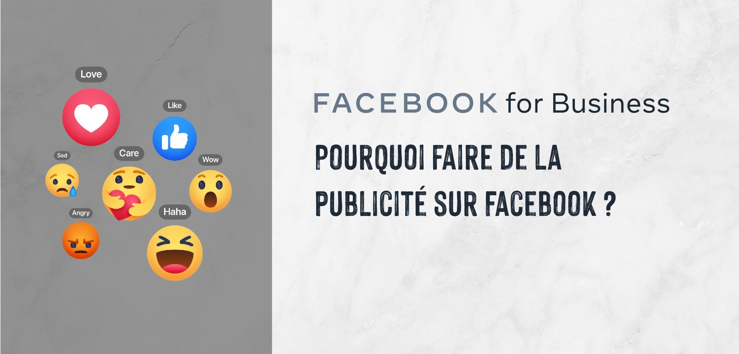 Pourquoi Facebook Ads ?