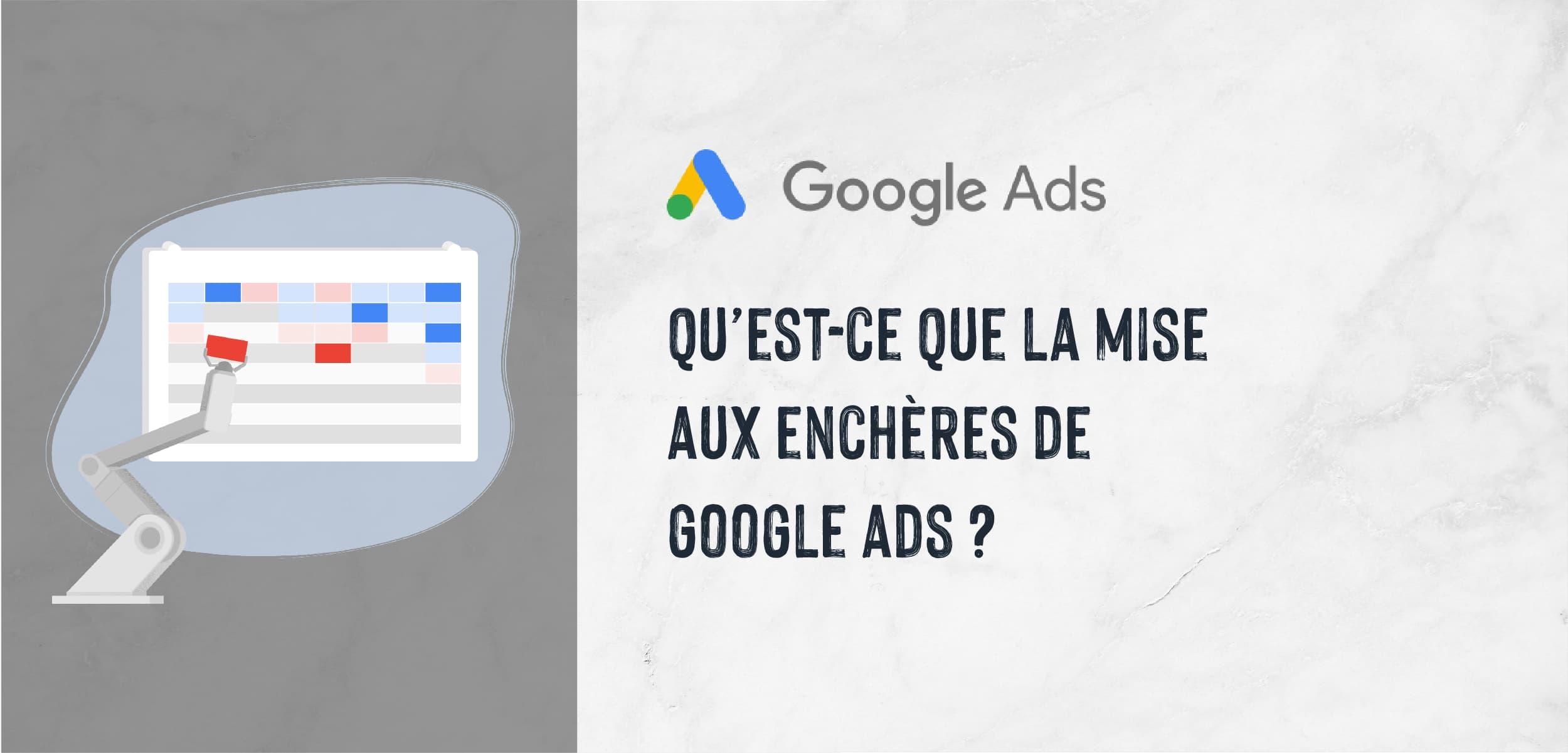 Maîtrisez la mise aux enchères de Google Ads
