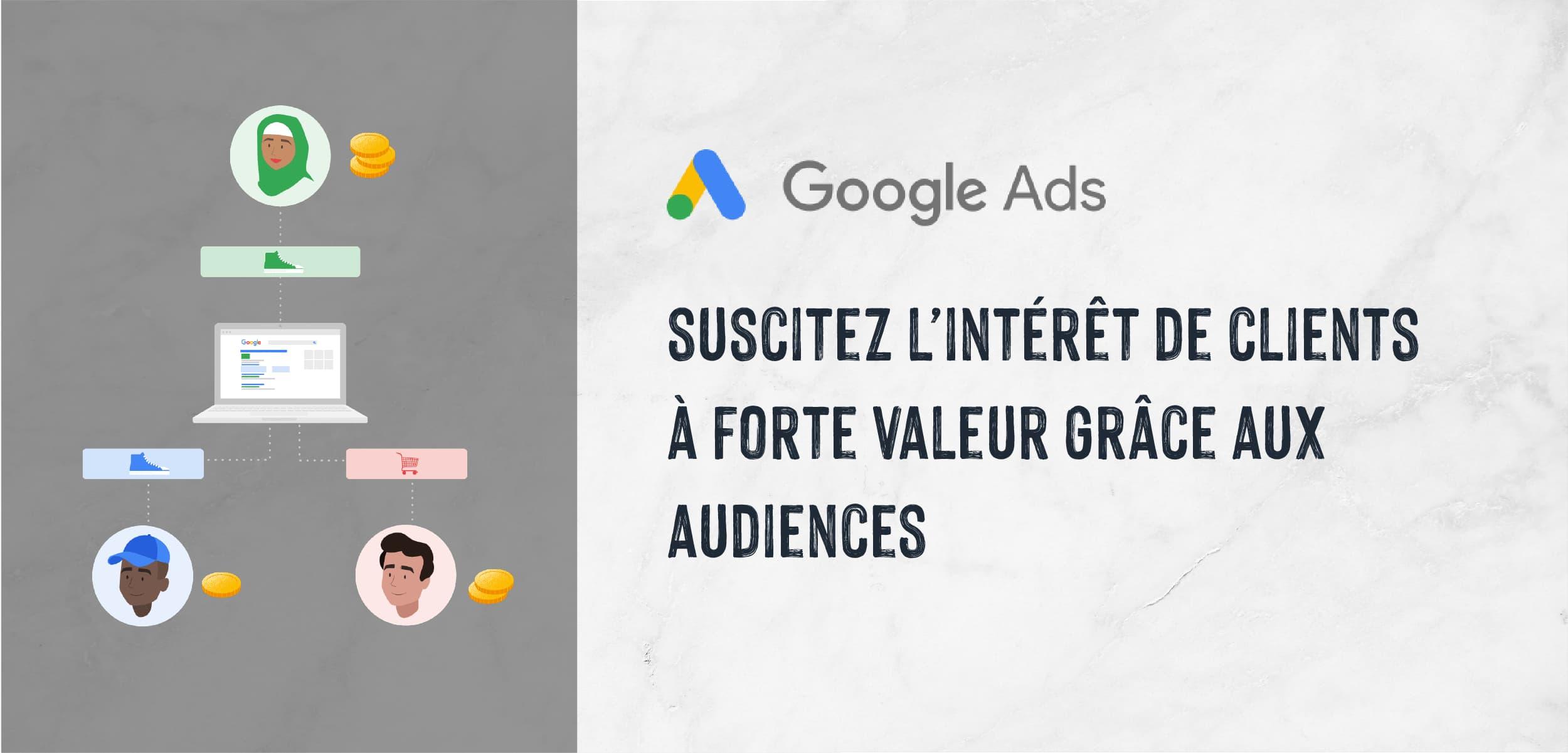 |Search Ads| Suscitez l'intérêt de clients à forte valeur grâce aux audiences